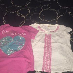 Little girls shirts